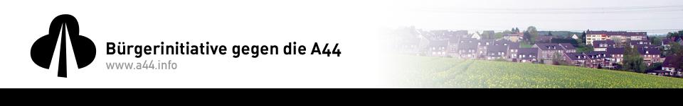 Bürgerinitiative gegen die A44